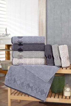 Geometri Cotton 50x90 4 lü El Havlusu Seti