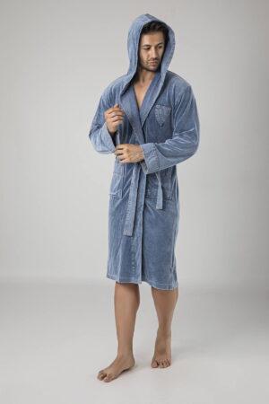 Jeans Kot Cotton Erkek Bornozu