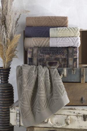 Cotton GALAKSİ 70x140 6 lı Banyo Havlusu Seti