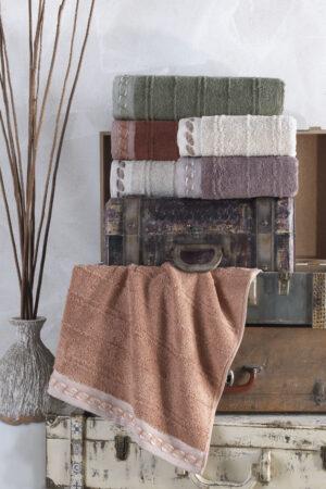 Cotton ŞAİKA 70x140 6 lı Banyo Havlusu Seti