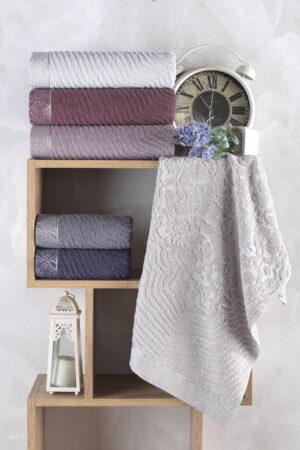 Cotton ERİCA 70x140 6 lı Banyo Havlusu Seti