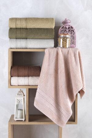 Cotton TOPKAPI  70x140 6 lı Banyo Havlusu Seti