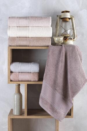 Cotton SEDEF 70x140 6 lı Banyo Havlusu Seti